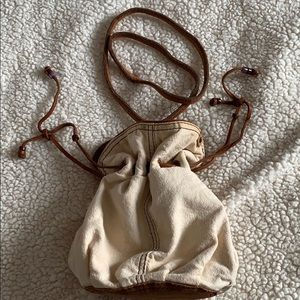 Lucky Brand Small Drawstring Handbag